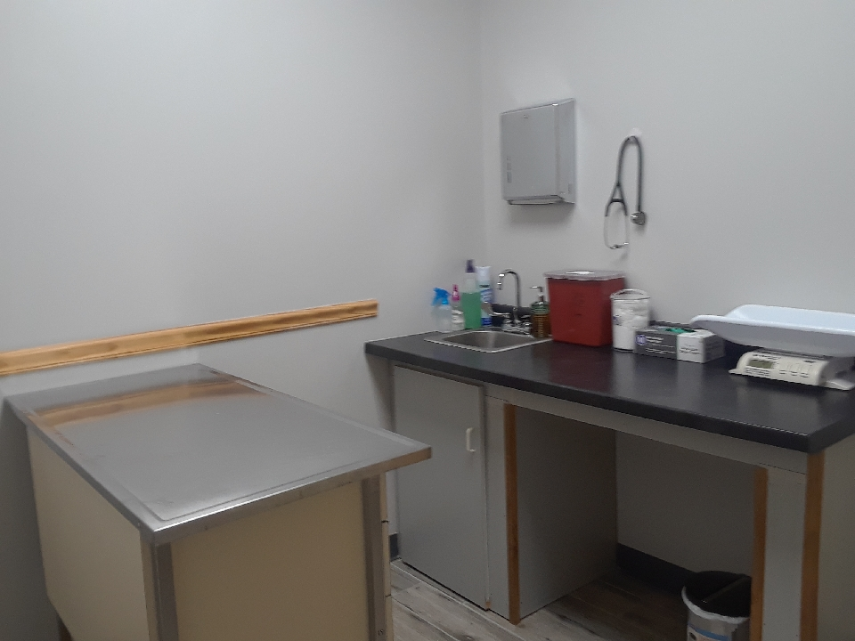 One of three exam rooms